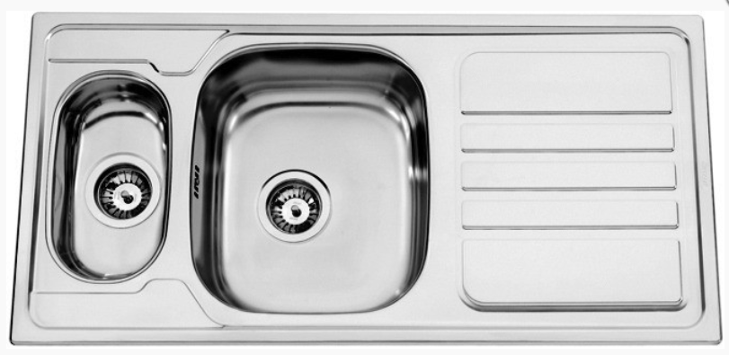 nerezové dřezy velké SINKS Sinks OKIO 1000.9 V 0,7mm leštěný + doprava a dárky zdarma