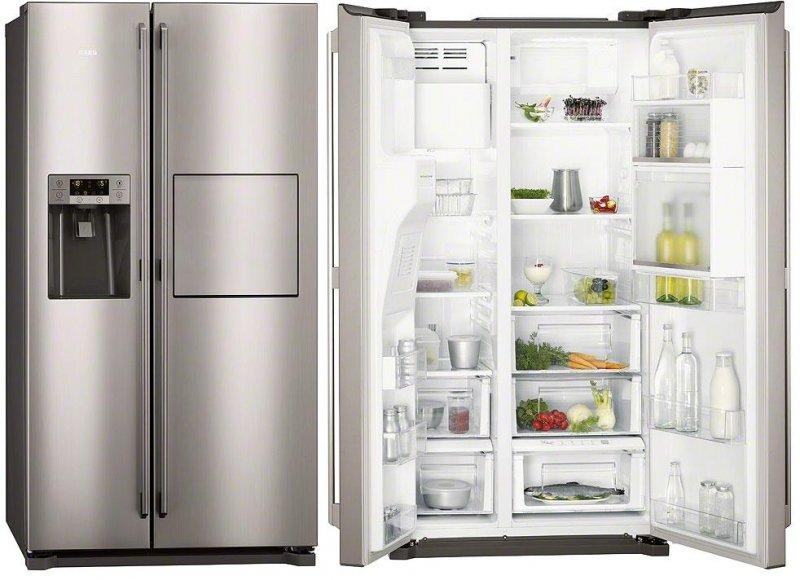 americké lednice AEG S86090XVX1
