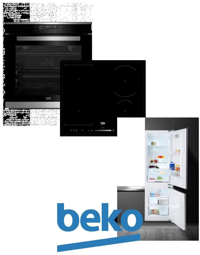 výhodný set BEKO BIR 35400 XMS+HII 64505 FHT+CBI 7771 F zapojení zdarma