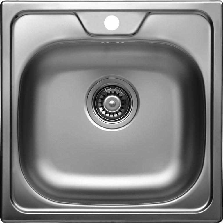 nerezové dřezy malé SINKS Sinks CLASSIC 480 V 0,6mm matný + doprava a dárky zdarma