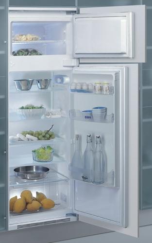 vestavná kombinovaná lednice WHIRLPOOL ART 380/A+ výprodej skladu zapojení zdarma