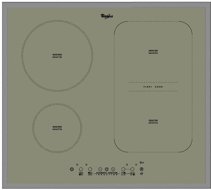 indukční varná deska WHIRLPOOL ACM 808 BA/S zapojení zdarma
