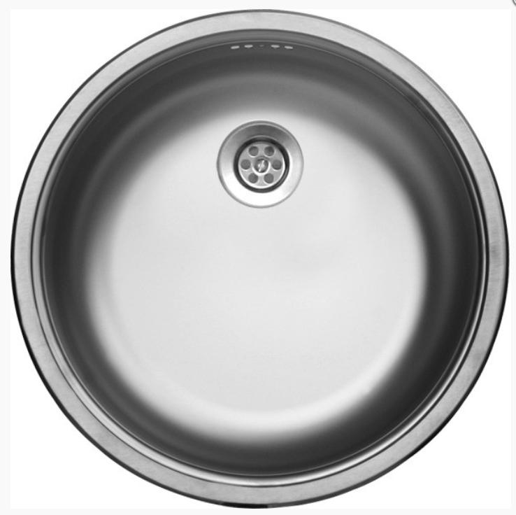 nerezové dřezy malé SINKS Sinks RONDO 435 M 0,6mm matný + doprava a dárky zdarma