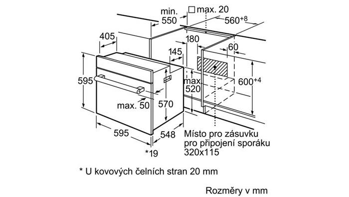 vestavn trouba siemens hb63ab521. Black Bedroom Furniture Sets. Home Design Ideas