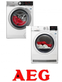 AEG ProSteam® L7FEC41SC+AEG AbsoluteCare® T8DBG48WC