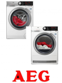 AEG ProSteam® L7FEC41SC+AEG AbsoluteCare® T8DBE48SC
